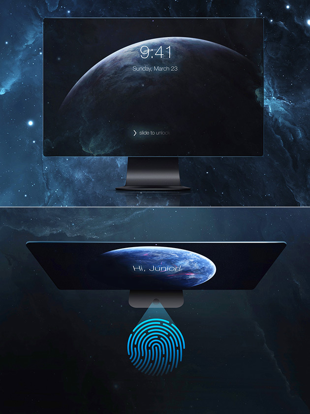 iMac Flow Touchscreen