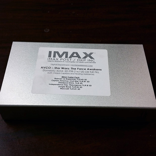 IMAX Force Awakens