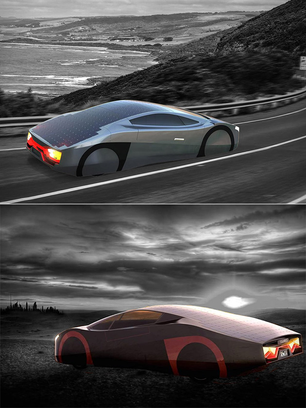 Immortus Solar Car