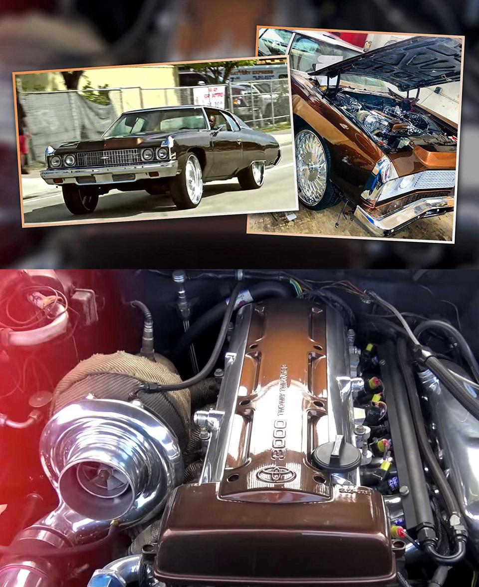 Impala Supra Engine