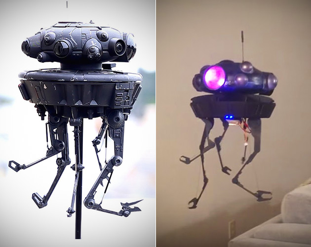 Imperial Probe Droid Drone