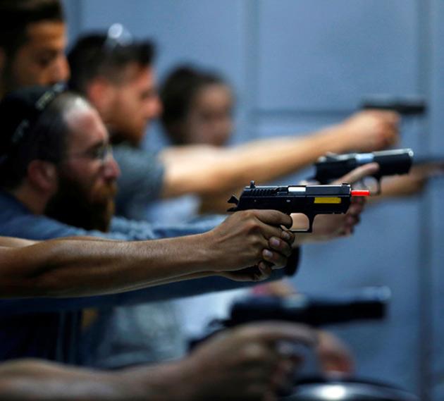 Implant-Activated Smart Gun