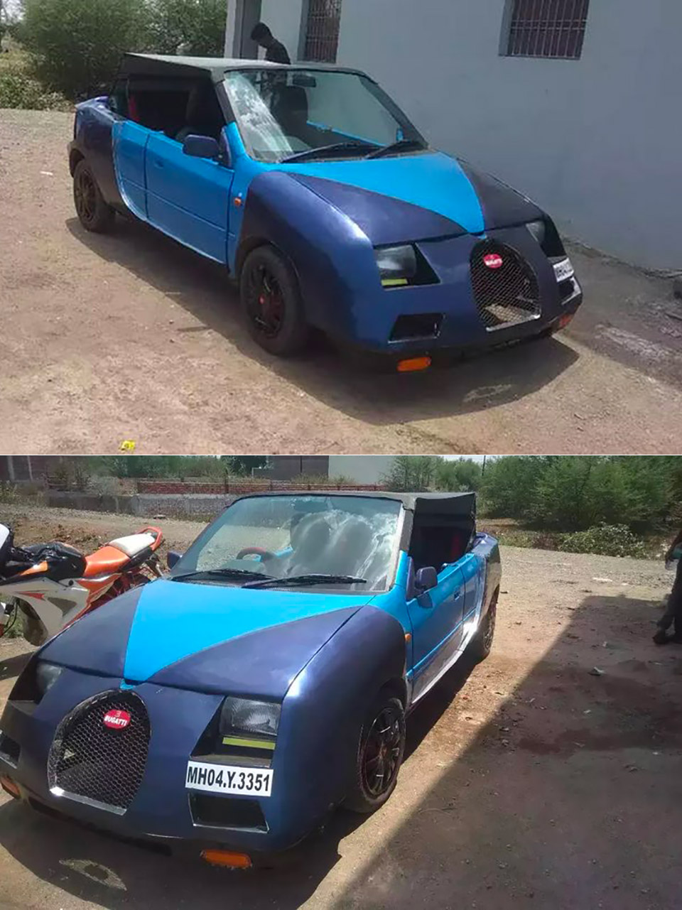 Indian Suzuki Zen Bugatti Veyron Replica Knockoff