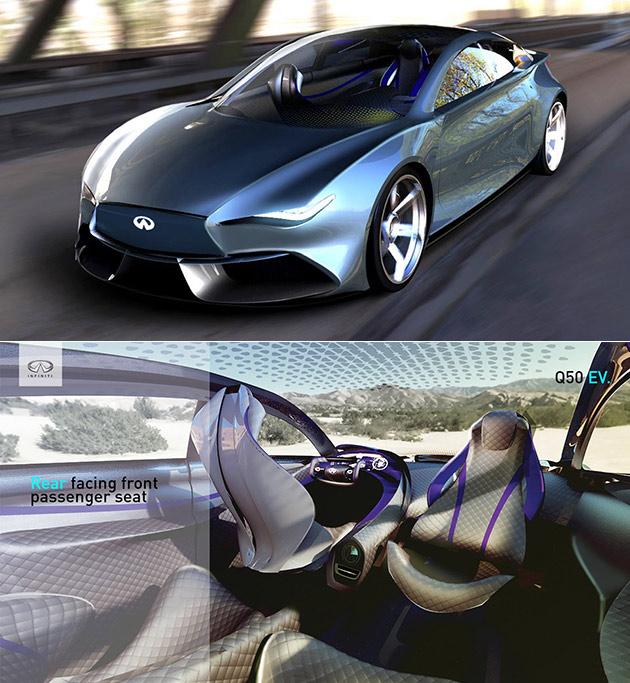 Infiniti Q50 EV