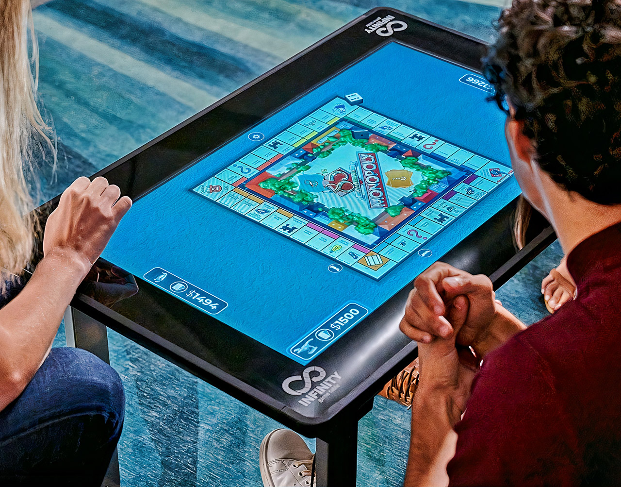 Infinity Game Table Arcade1Up Touchscreen