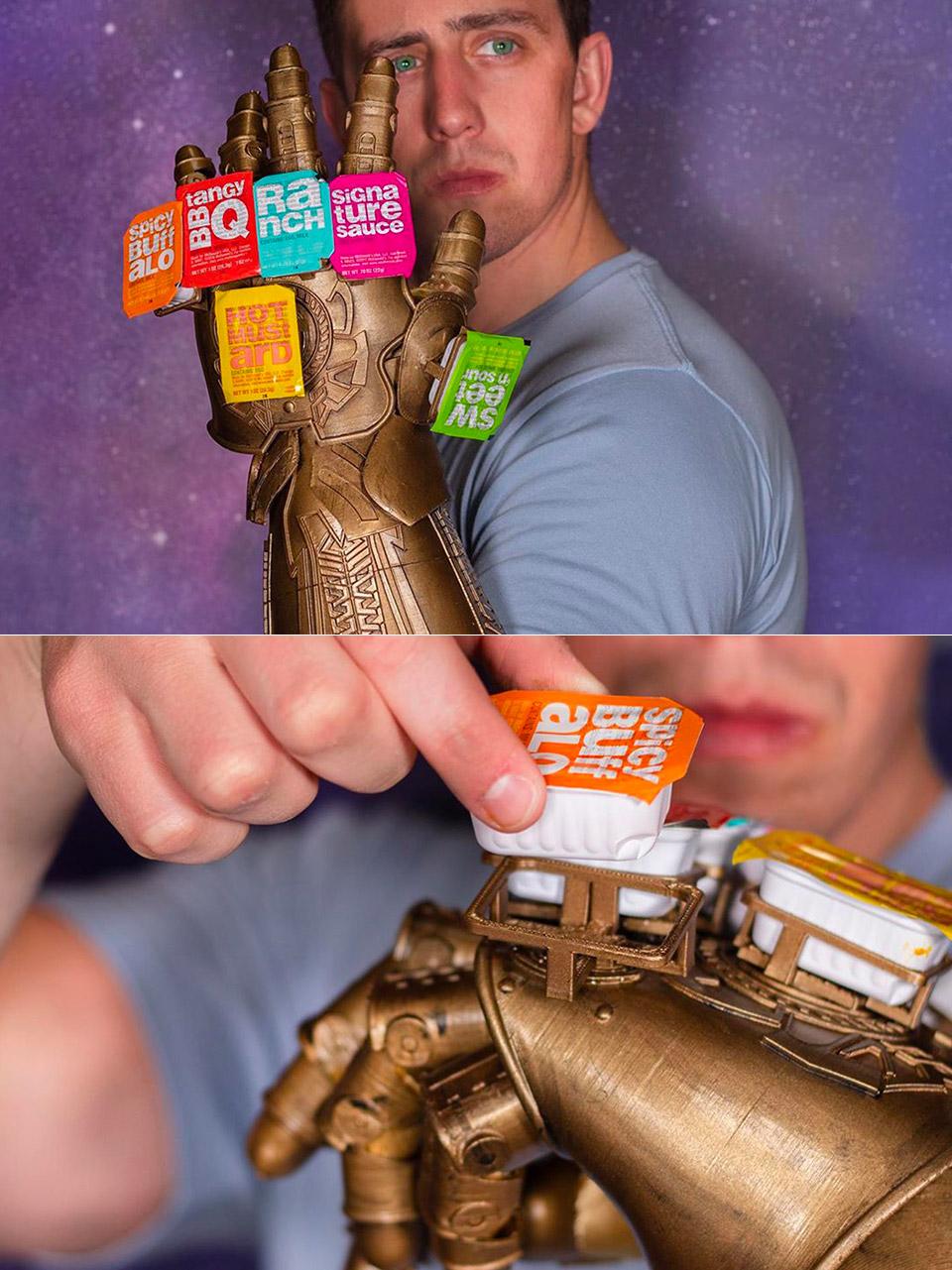 Infinity Saucelet Gauntlet Unnecessary Inventions