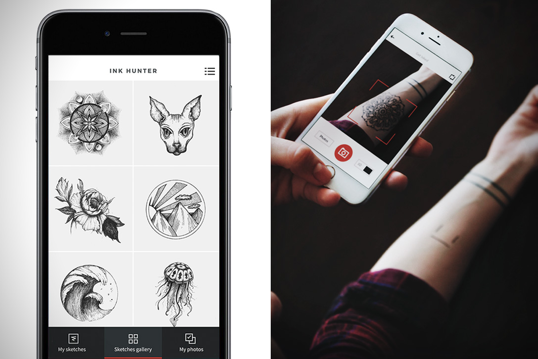 Ink Hunter Tattoo App