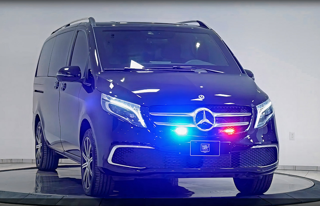 INKAS Armored Mercedes-Benz V Class Van