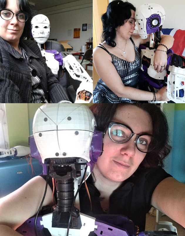 InMoov 3D-Printed Robot