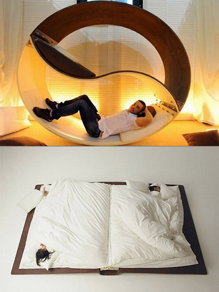 12 Innovative Bed Designs That Think Outside The Box