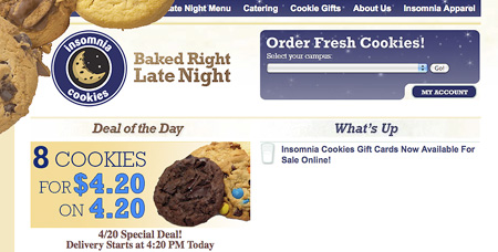 Insomnia Cookies Provides College Students with Late Night Snacks ...