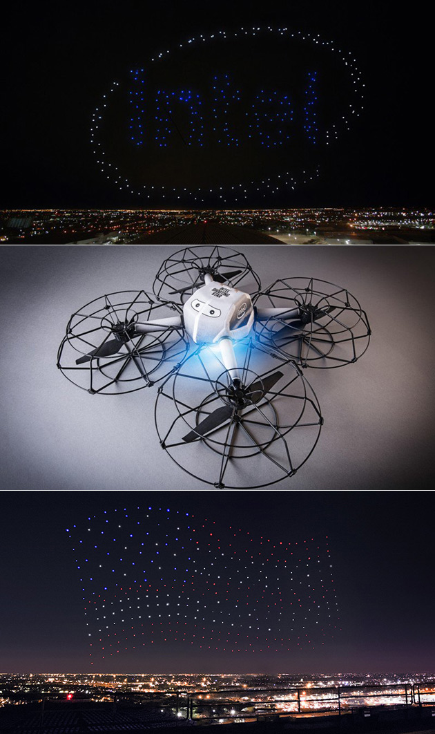 Intel Drones Halftime