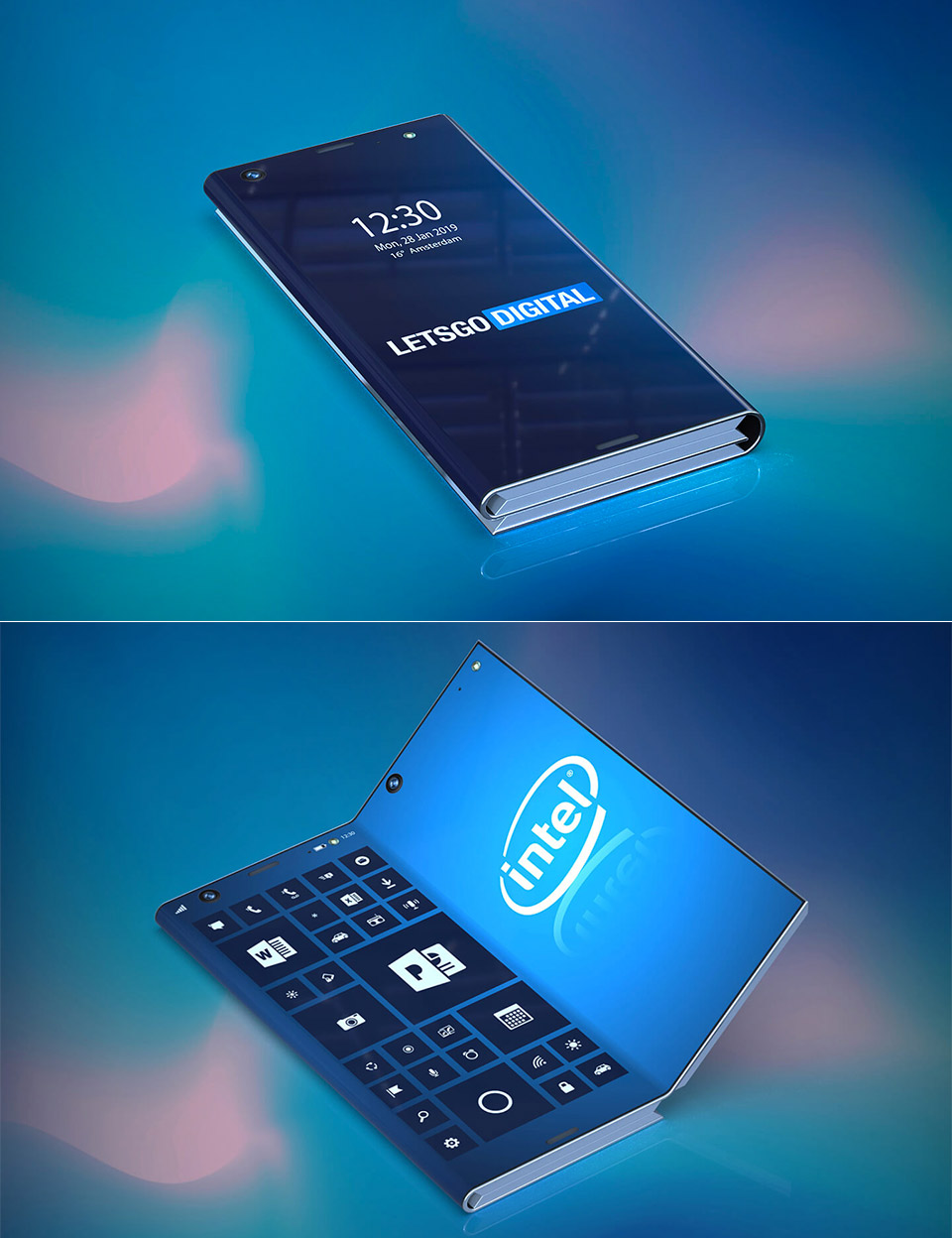 Intel Patent Smartphone Tablet Computer