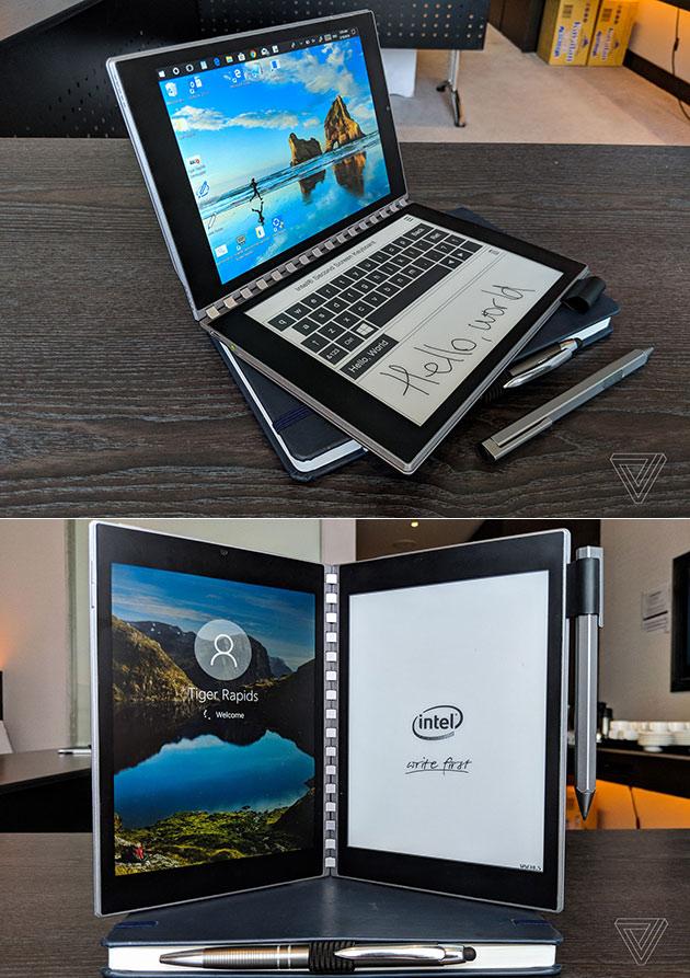 Intel Tiger Rapids Dual Screen