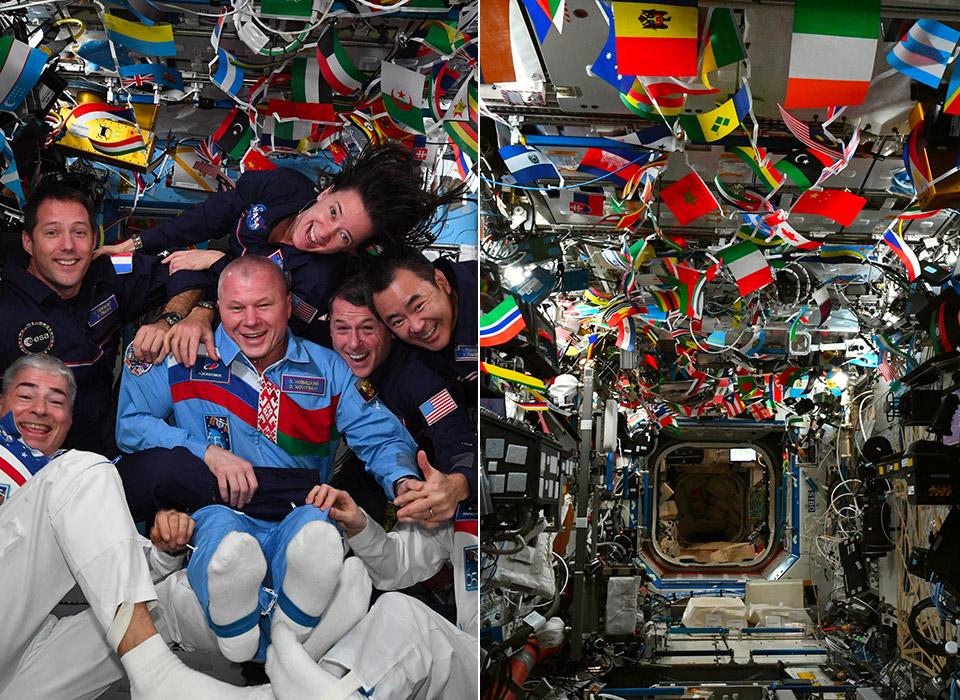 International Space Station NASA Astronaut Olympics