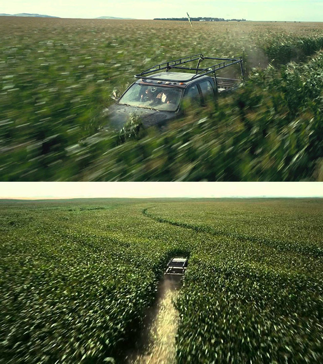 Driving Through a Real Cornfield in Interstellar and 10 More Movie Details You Might've Missed
