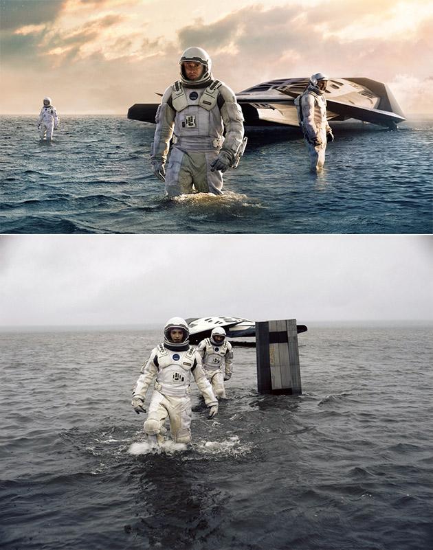 Interstellar Miller Planet Water