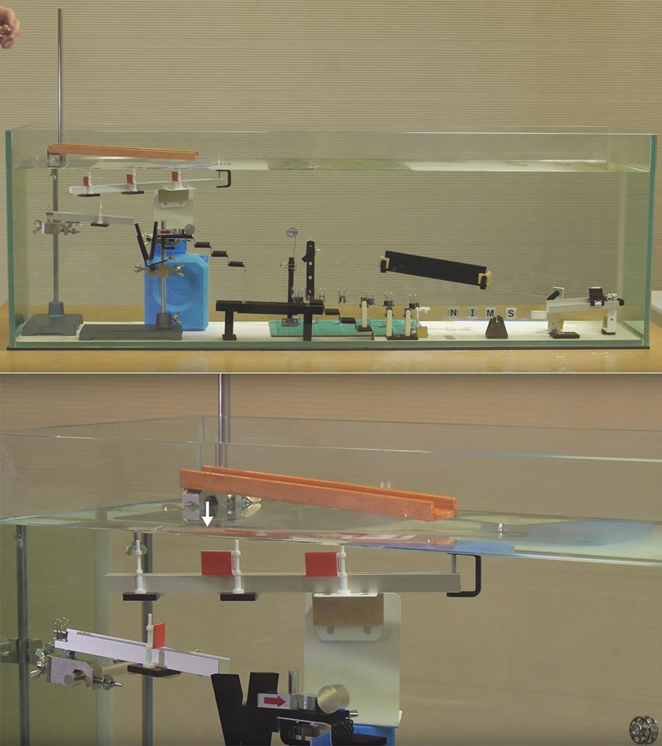 Invisible Rube Goldberg Machine