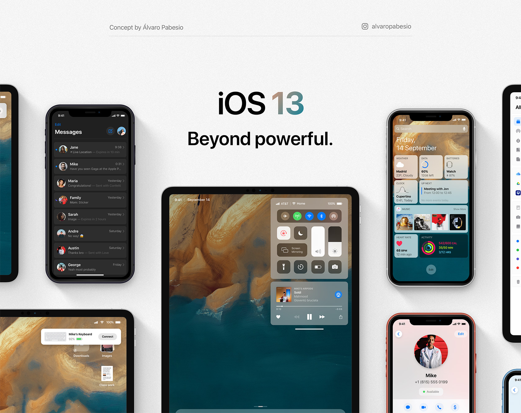 iOS 13 Apple iPhone iPad