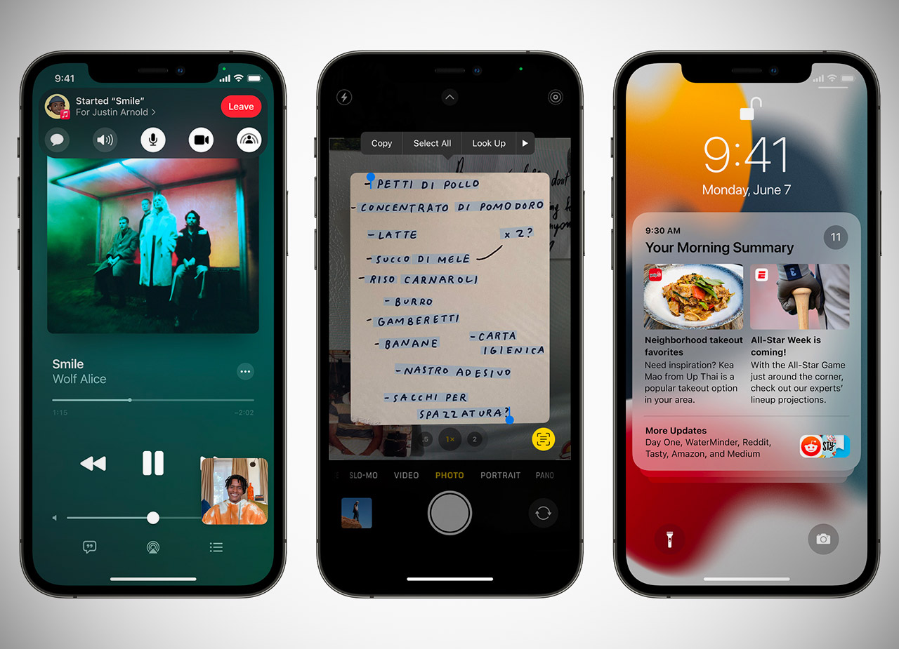 iOS 15 Preview Apple WWDC 2021