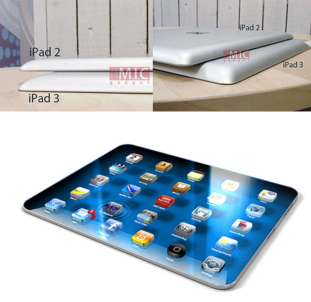 Difference Between iPad 2 And 3