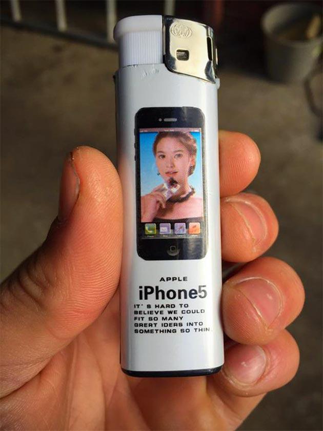 iPhone 5 Lighter