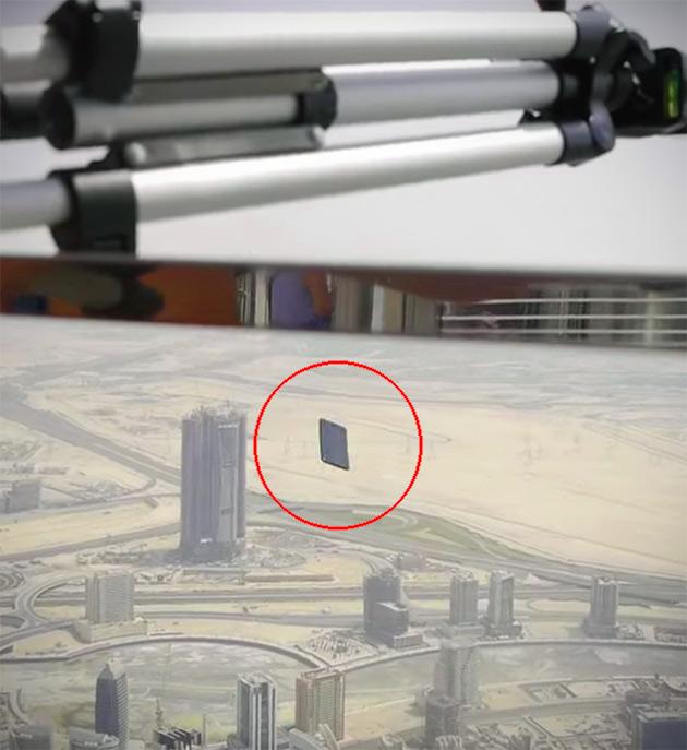 iPhone 7 Burj