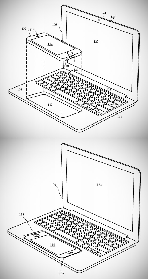 iPhone MacBook Patent