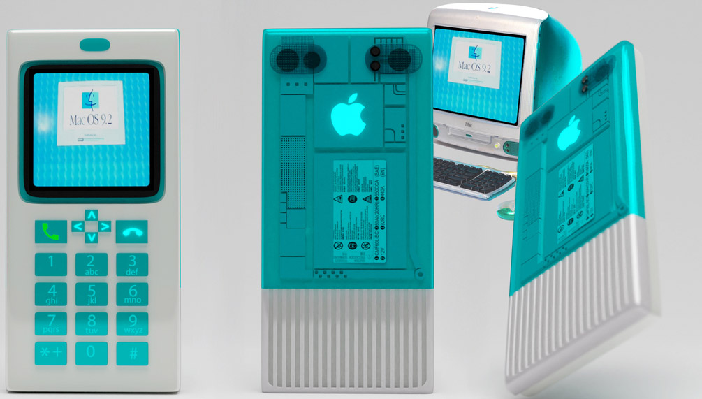 iPhone Redesigned Retro Apple Macintosh Computers