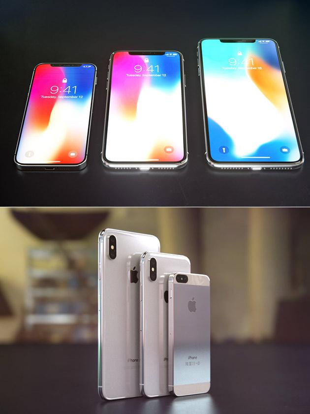 iPhone X Plus iPhone X SE