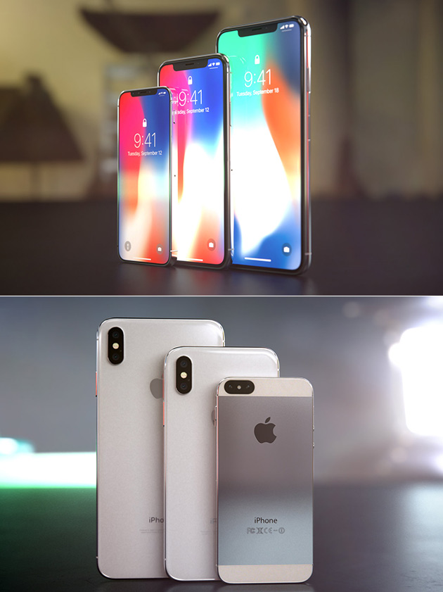 on sale 23fcb 4e821 iPhone X+ Gets Rendered in New Video Based on Leaked Info, Has 6.5 ...