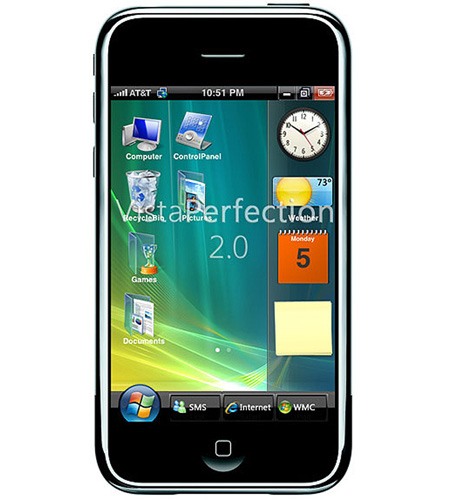 iPhone Windows Vista - TechEBlog