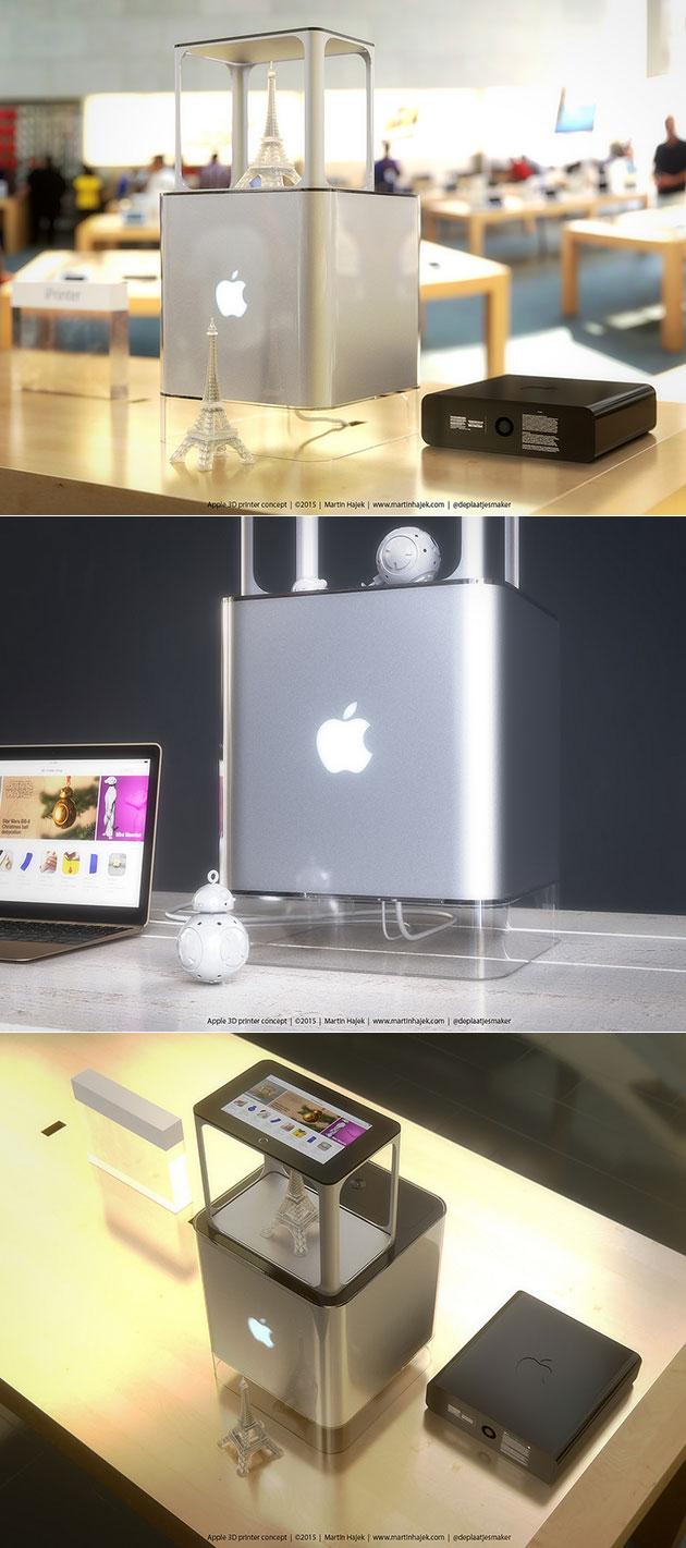 iPrinter Apple 3D Printer
