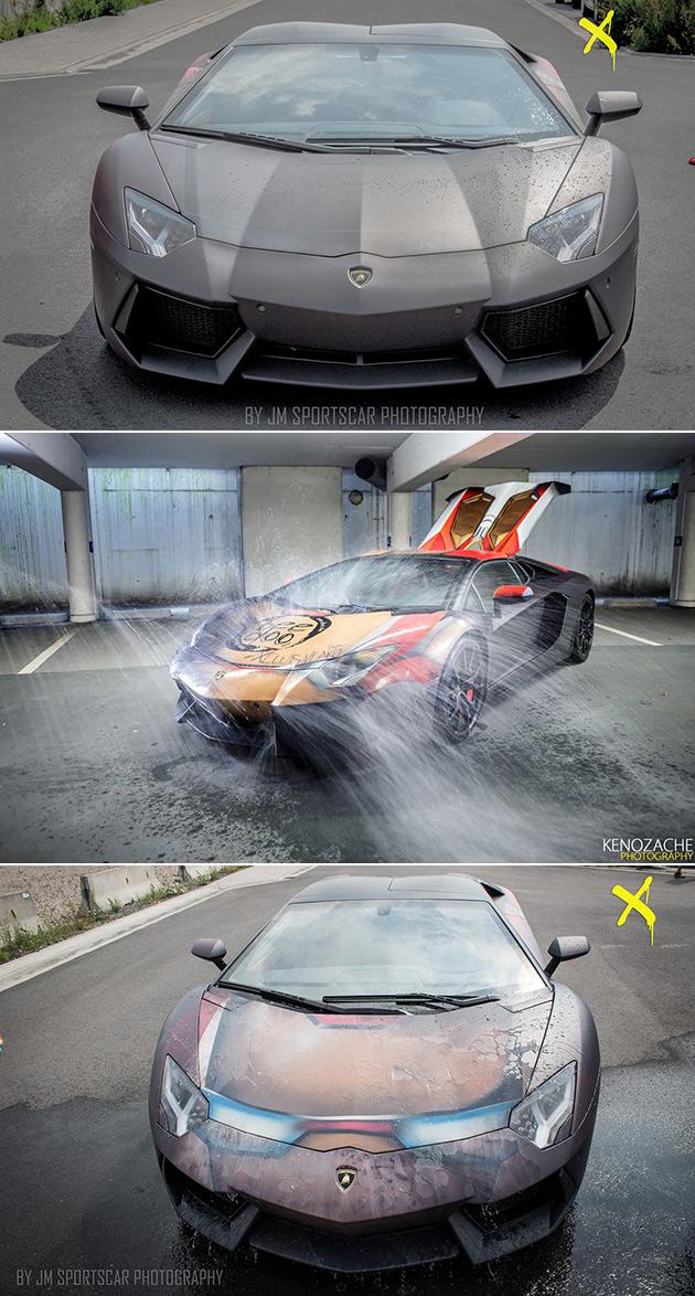 Iron Man Lamborghini