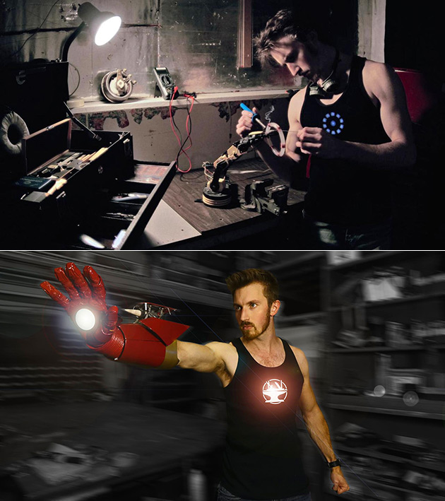 Iron Man Gauntlet Rocket Launcher
