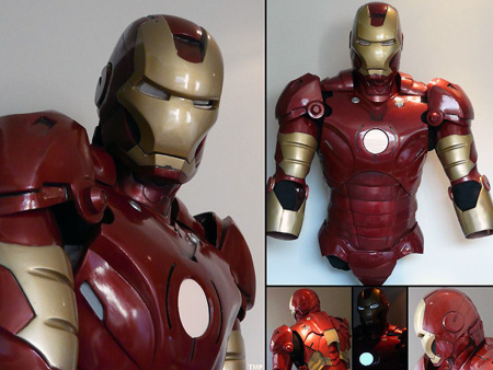 Iron Man Suit Cosplay Iron Man Suit on Ebay