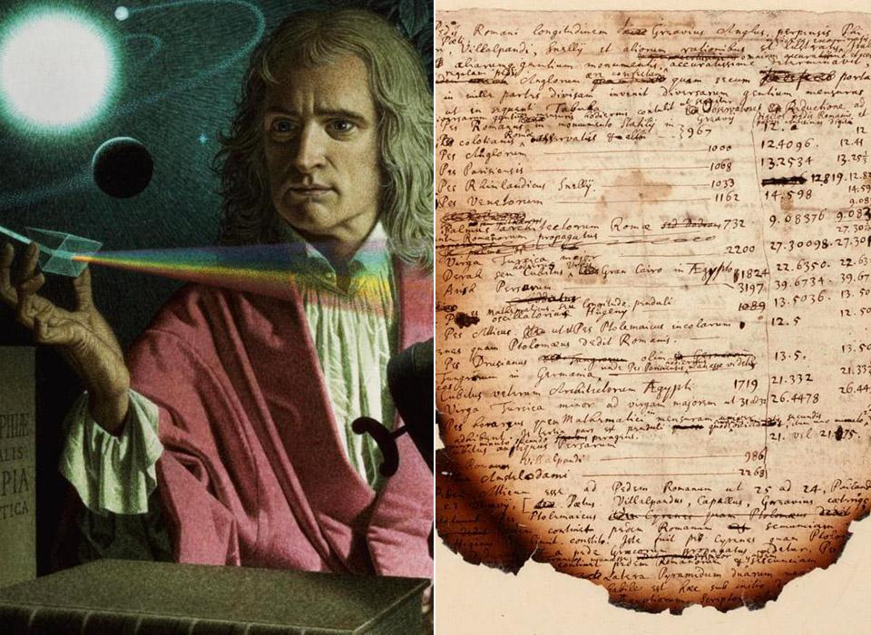 Isaac Newton Egyptian Pyramids Apocalypse