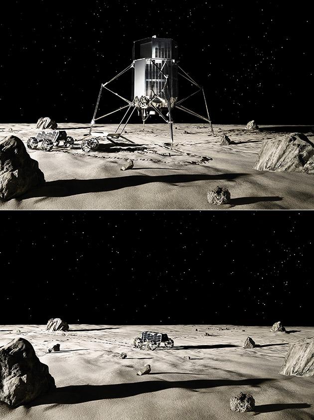 iSpace Moon