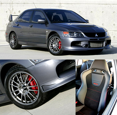 Primedia recently go the chance to review a 2007 Mitsubishi Evolution IX MR,