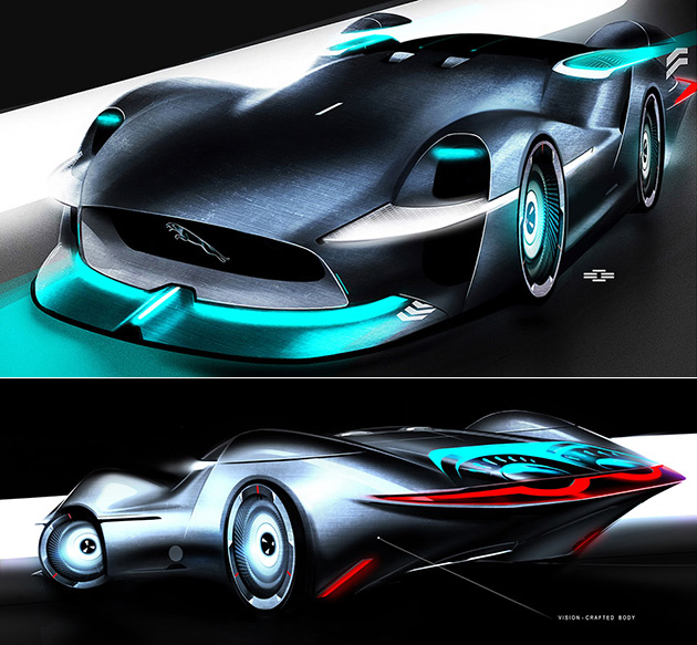 Jaguar Persona Is A Futuristic Electric Race Car With NASA