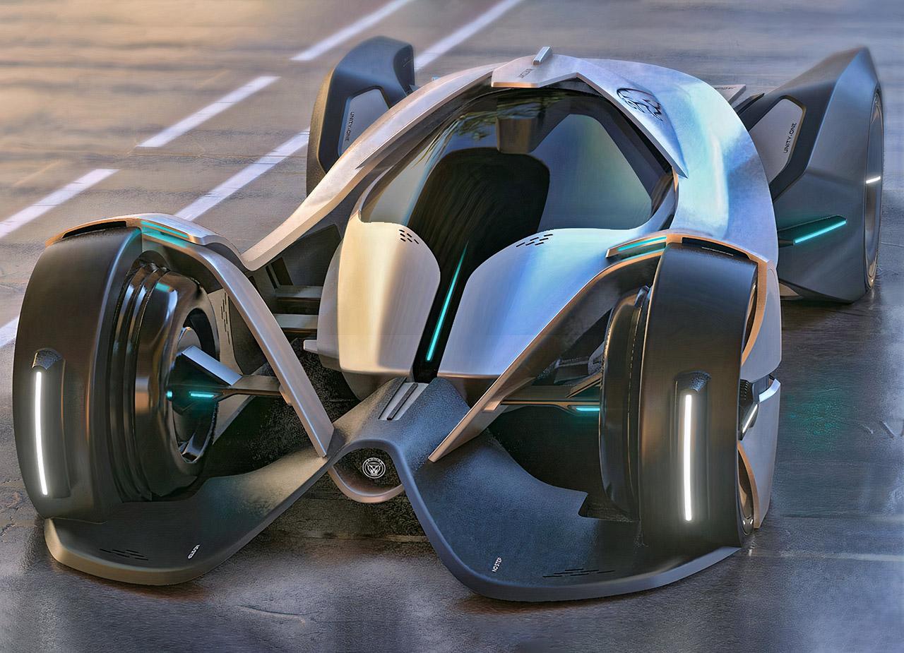 Jaguar Unity-One Vision Electric Hypercar