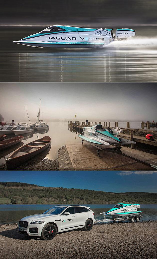 Jaguar Vector Powerboat
