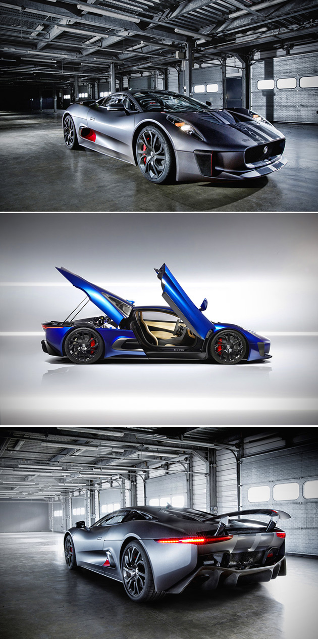 Another Look At Jaguaru0027s C X75, A Twin Charged Hybrid Supercar That Pumps  Out Nearly 1000HP Amazing Design