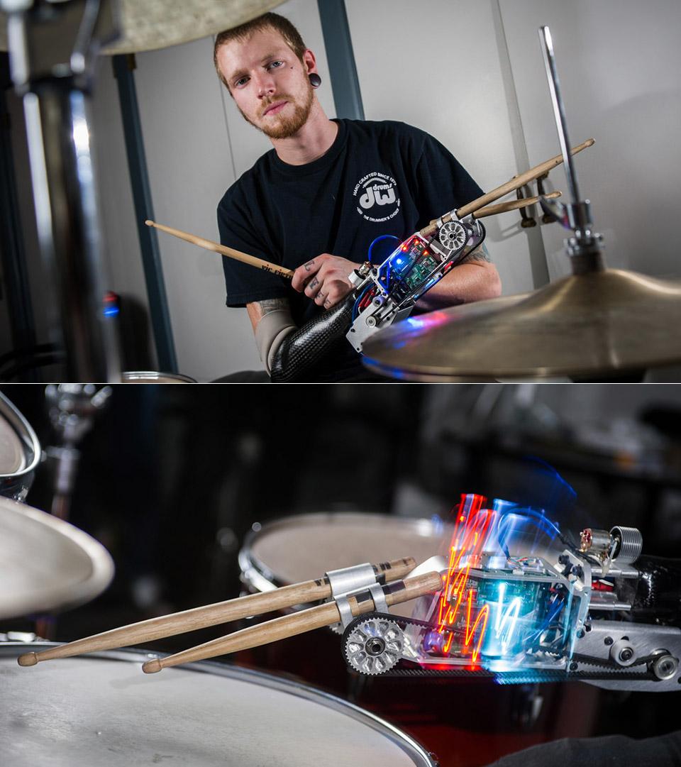 James Barnes Bionic Drummer