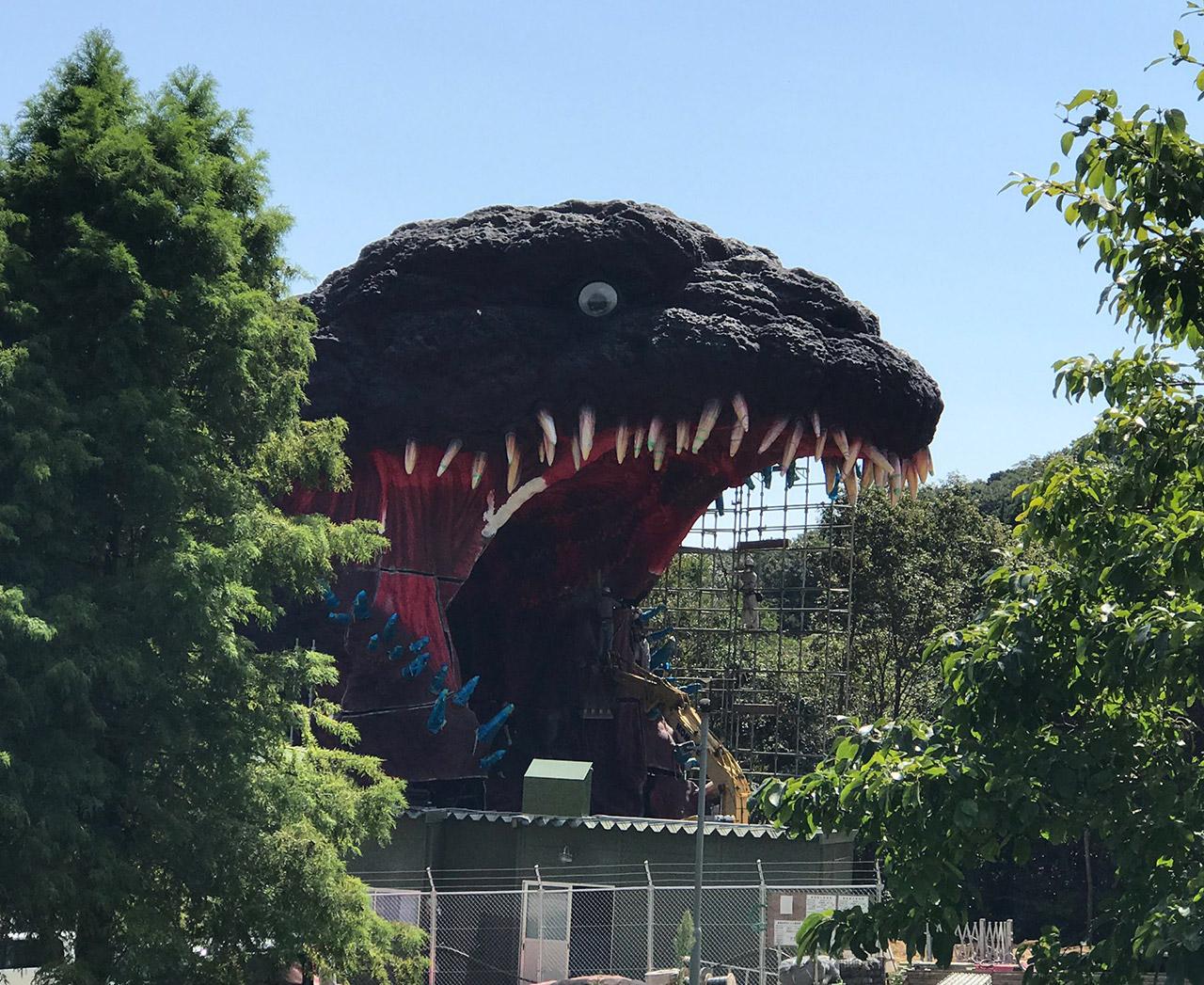 Japan Godzilla Awaji Island