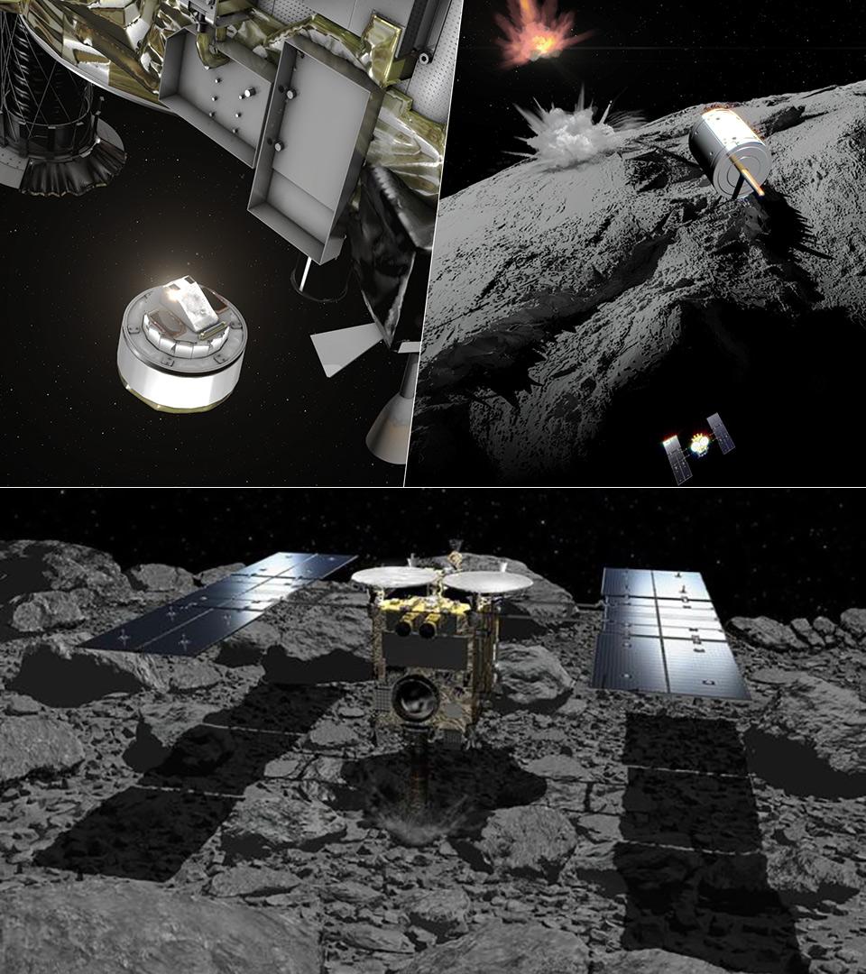 Japan JAXA Hayabusa2 Space Probe Asteroid