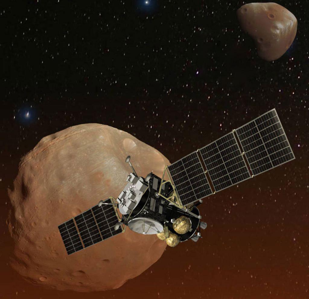 JAXA Martian Moons Exploration NASA
