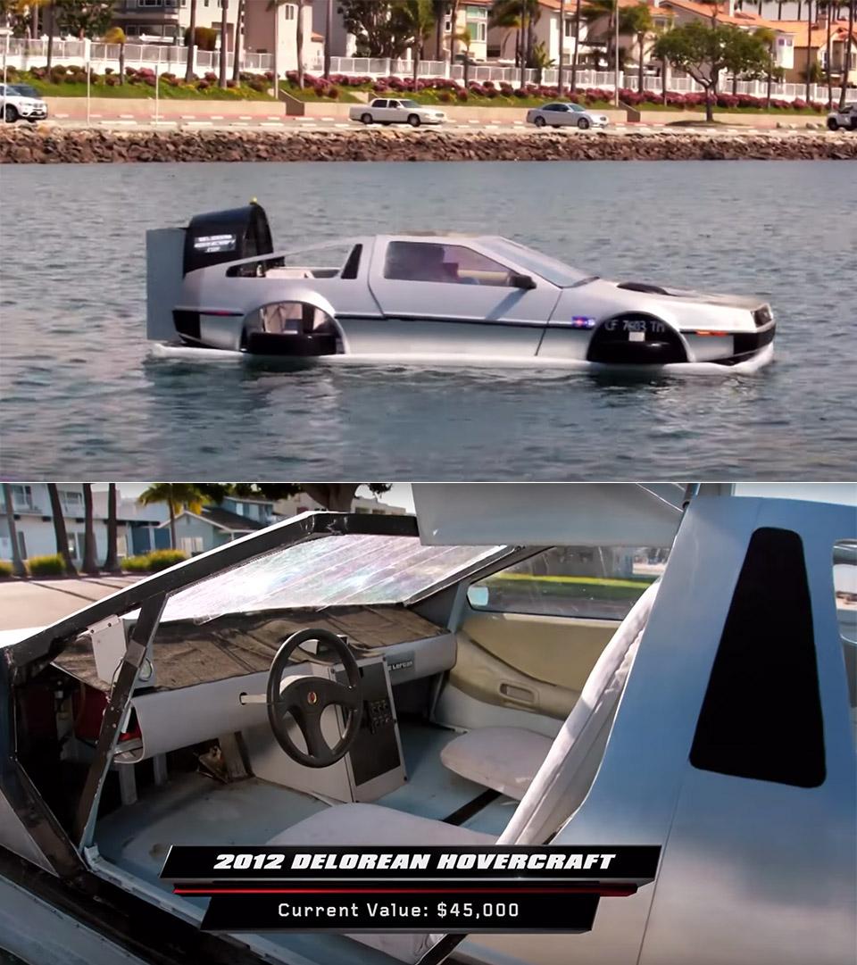 Jay Leno DeLorean Hovercraft