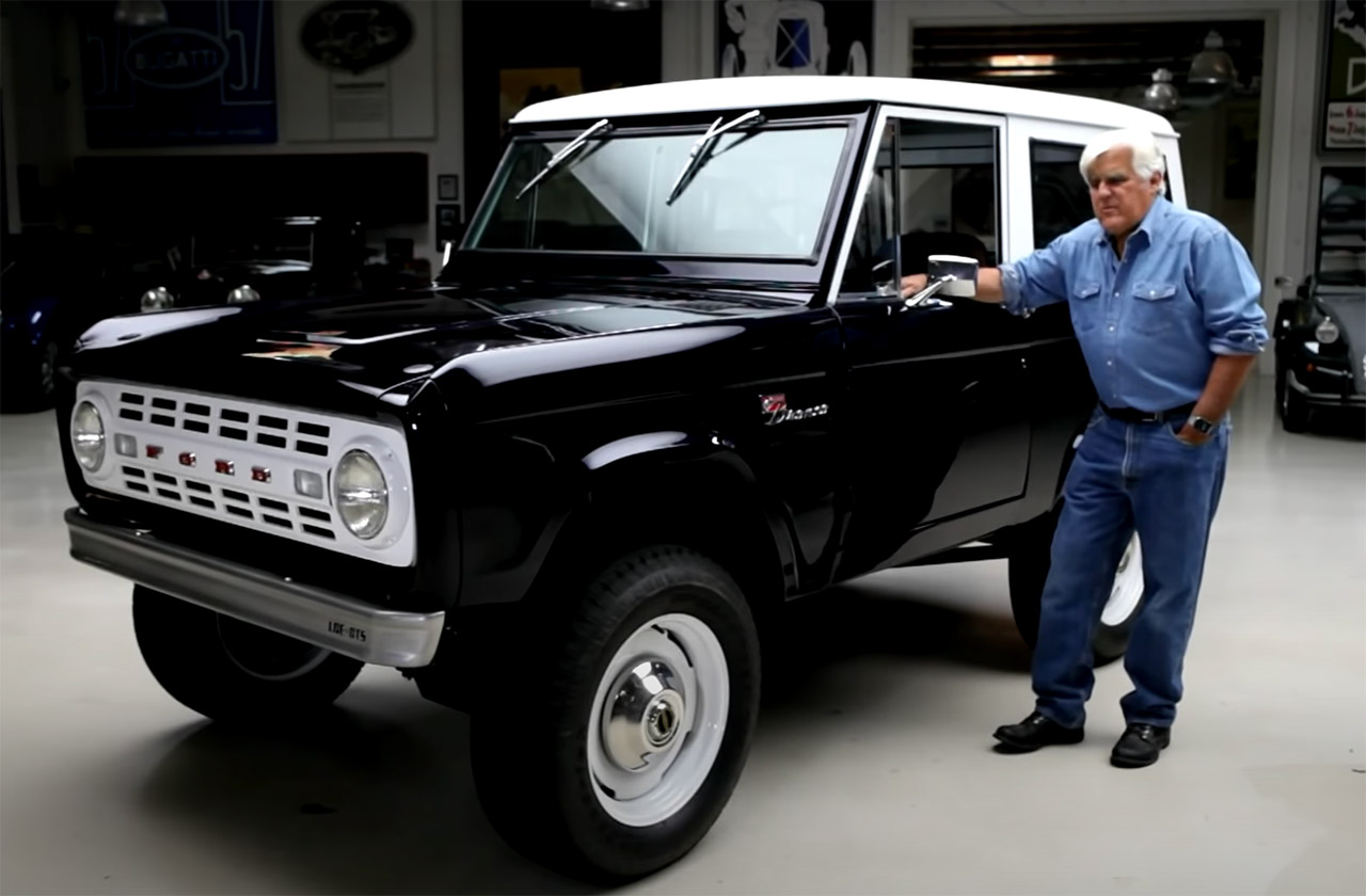 Jay Leno Shelby GT500 1968 Ford Bronco
