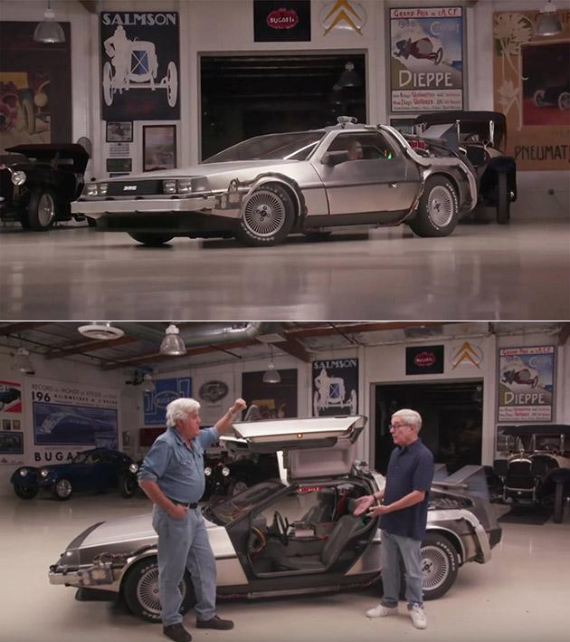 Jay Leno DeLorean